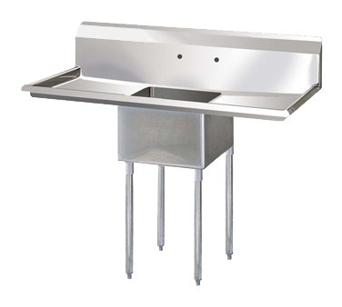 "superior-equipment-supply - Turbo Air - Turbo Air 54"" Wide Stainless Steel One Compartment Sink"