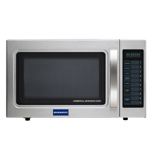 "superior-equipment-supply - Turbo Air - Turbo Air Medium Duty 21.38"" Wide Stainless Steel Microwave Oven"
