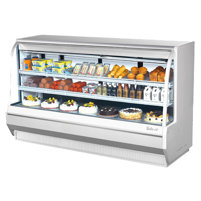 "superior-equipment-supply - Turbo Air - Turbo Air 96.5"" Wide Refrigerated Deli Display Case"