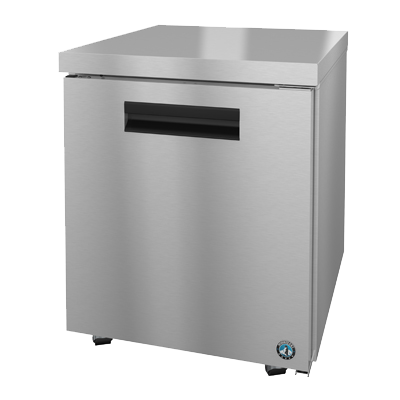 "superior-equipment-supply - Hoshizaki - Hoshizaki Stainless Steel 27"" Wide Reach-In Undercounter Freezer With Self Contained Refrigeration System"
