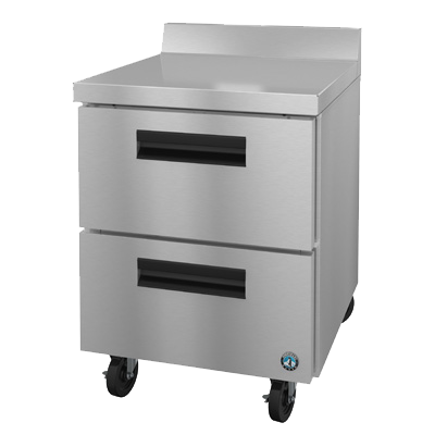 "superior-equipment-supply - Hoshizaki - Hoshizaki Stainless Steel 27"" Wide Undercounter Freezer"