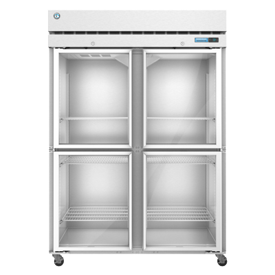 superior-equipment-supply - Hoshizaki - Hoshizaki Four Glass Doors Reach-In Two-Section Freezer 50.37 cu. ft