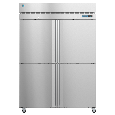 "superior-equipment-supply - Hoshizaki - Hoshizaki 55"" Wide Stainless Steel Two Section Four Half Door Refrigerator"