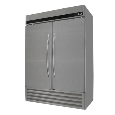 "Fogel 54.4"" Wide Two-Section Reach-In Refrigerator With 43 cu. ft. Capacity"