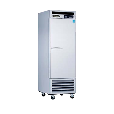 "superior-equipment-supply - MVP Group - Kool-It Stainless Steel Reach-In One Section Solid Door Freezer 26.8""W"