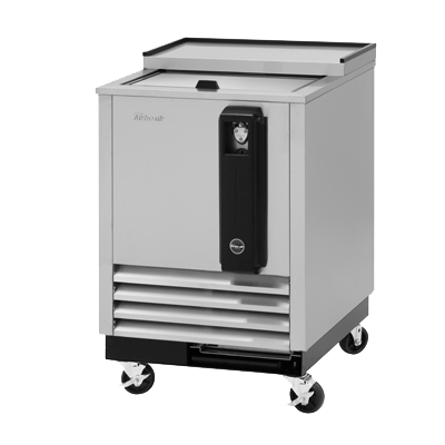 "superior-equipment-supply - Turbo Air - Turbo Air Stainless Steel Super 24"" Deluxe Bottle Cooler"