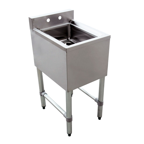 Omcan Stainless Steel One Compartment Underbar Sink