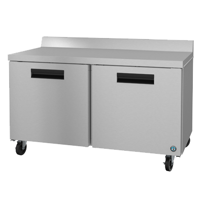 "superior-equipment-supply - Hoshizaki - Hoshizaki Stainless Steel 60"" Wide Reach In Two Section WorkTop Freezer"