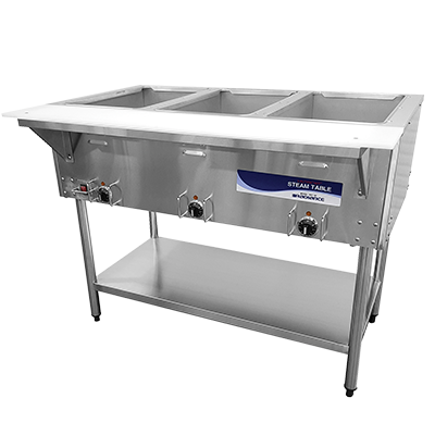 "superior-equipment-supply - Turbo Air - Turbo Air 44"" Wide Stainless Steel Electric Hot Food Steam Table"