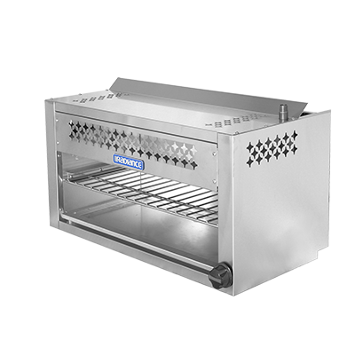 "superior-equipment-supply - Turbo Air - Turbo Air Stainless Steel Radiant 24"" Wide Cheesemelter"
