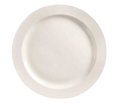 "superior-equipment-supply - World Tableware Inc - World Tableware Medium Rim Plate  Porcelain Bright White 9"" Diameter - 12/Case"