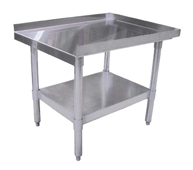 "Omcan Stainless Steel Equipment Stand 15""W x 30""D"