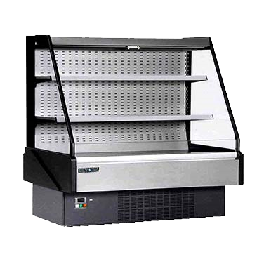 "superior-equipment-supply - MVP Group - Hydra-Kool Stainless Steel Multiplex Merchandiser 60.6""W"