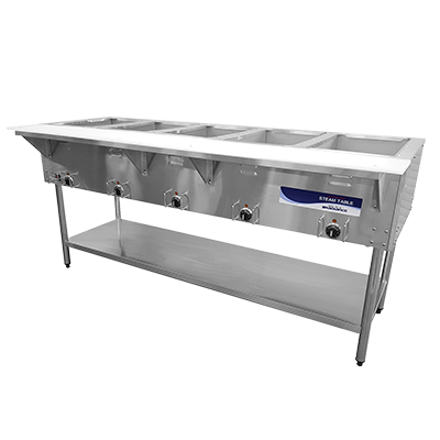 "superior-equipment-supply - Turbo Air - Turbo 72"" Wide Stainless Steel Electric Air Hot Food Steam Table"