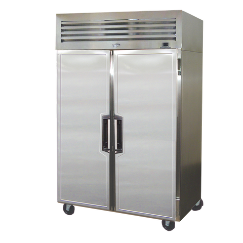 "Fogel 56.6"" Wide Two-Section Reach-In Refrigerator With 50 cu. ft. Capacity"