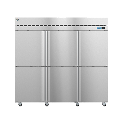 superior-equipment-supply - Hoshizaki - Hoshizaki Stainless Steel Six Half Door Three Section Reach in Freezer