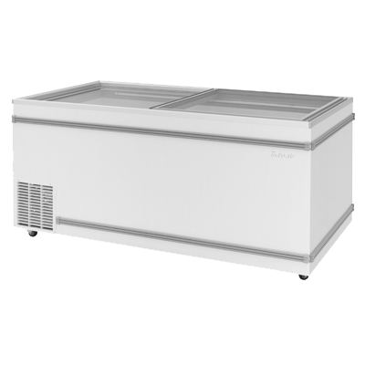 "superior-equipment-supply - Turbo Air - Turbo Air White Steel Top Open Island 69"" Wide Chest Freezer"