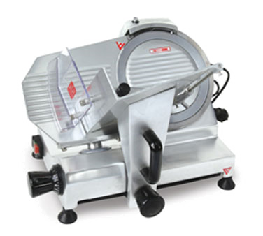 "Omcan Manual Meat Slicer 9"" Diameter Knife"