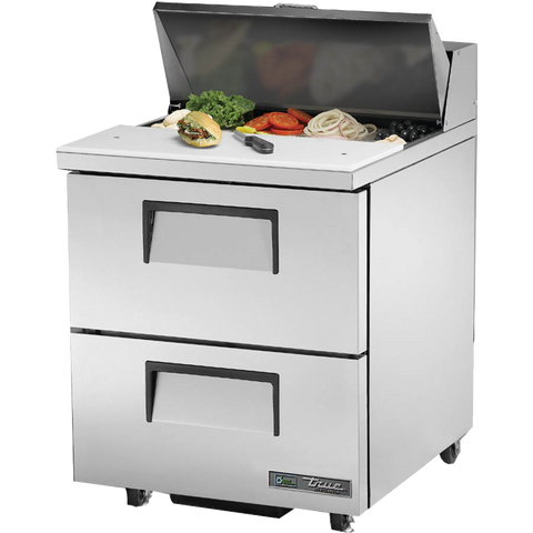 superior-equipment-supply - True Food Service Equipment - True Stainless Steel One Section ADA Compliant Sandwich/Salad Unit