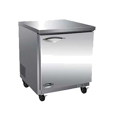 "superior-equipment-supply - MVP Group - IKON Stainless Steel One Section Undercounter Refrigerator 27.8""W"