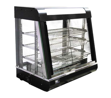 "Omcan 27"" Wide (3) Tier Display Warmer"