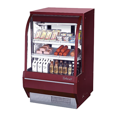 Turbo Air Stainless Steel Refrigerated Deli Display Case