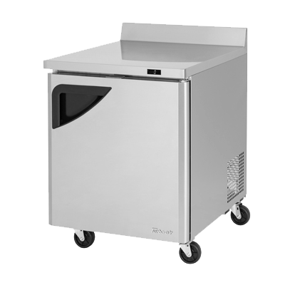 "superior-equipment-supply - Turbo Air - Turbo Air Stainless Steel 27.5"" Wide Super Deluxe Worktop Freezer"