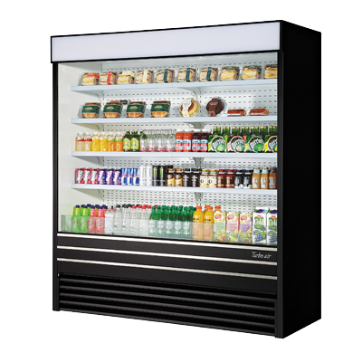 superior-equipment-supply - Turbo Air - Turbo Air 37.1 Cubic Feet Vertical Open Display Merchandiser
