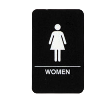 "Tablecraft Cash & Carry Sign ""Women"""