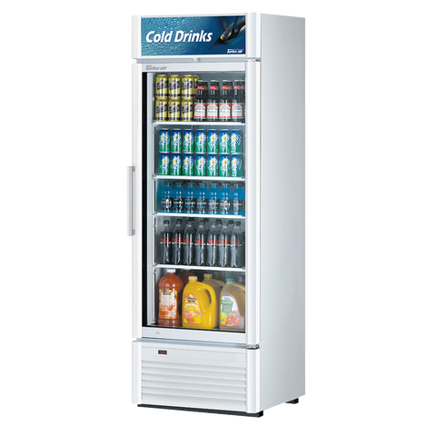 "superior-equipment-supply - Turbo Air - Turbo Air 27"" Wide Stainless Steel One-Section Refrigerated Merchandiser"