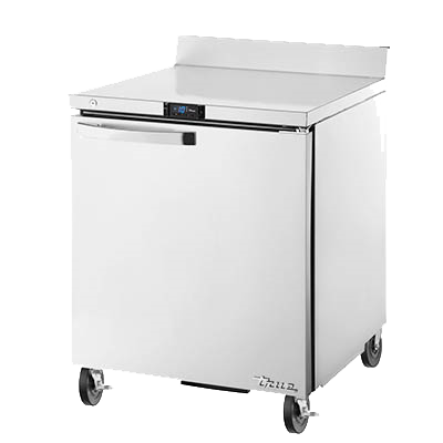 "superior-equipment-supply - True Food Service Equipment - True Spec Series Stainless Steel One Section Work Top Freezer 28""W"