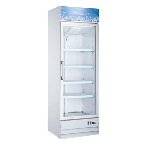Omcan One Section Freezer Merchandiser 13. cu. ft.