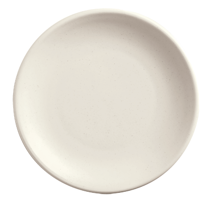 "superior-equipment-supply - World Tableware Inc - World Tableware Driftstone Coupe Plate Driftwood  Porcelain 9"" dia. -12/Case"