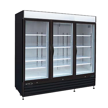 "superior-equipment-supply - MVP Group - Kool-It Three Section Three Door Freezer Merchandiser 81""W"
