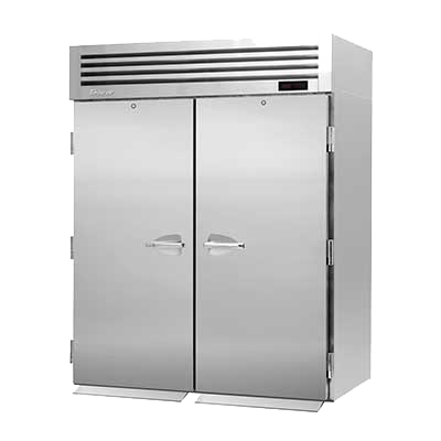 "superior-equipment-supply - Turbo Air - Turbo Air 66.88"" Wide Two-Section Stainless Steel Roll-In Heated Cabinet"