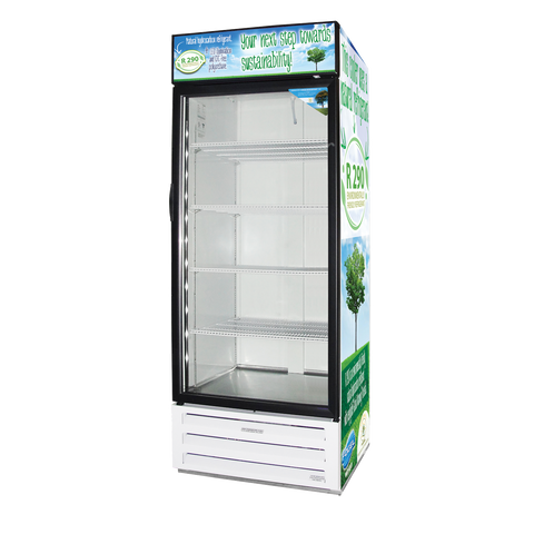 "Fogel 30"" Wide One-Section Reach-In Refrigerator Merchandiser With 26 cu. ft. Capacity"