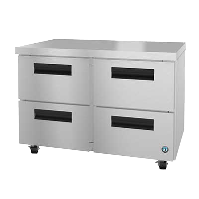 "superior-equipment-supply - Hoshizaki - Hoshizaki Stainless Steel 48"" Wide Two Section Reach In Undercounter Refrigerator"