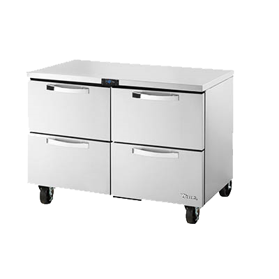 "superior-equipment-supply - True Food Service Equipment - True Stainless Steel 48"" Wide Undercounter Freezer"