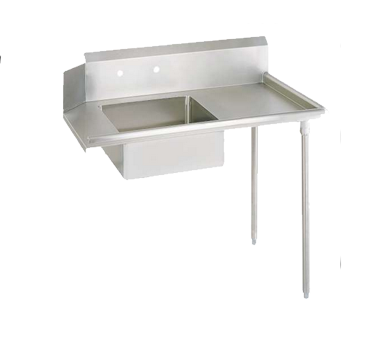 "superior-equipment-supply - BK Resources - BK Resources Soiled Dishtable Straight Design 48""W x 30-3/8""D x 46-1/4""H, Stainless Steel"
