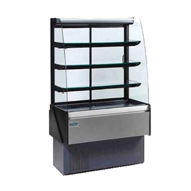 "superior-equipment-supply - MVP Group - Hydra-Kool Bakery Display Case Three Adjustable Shelves 40.38""W"