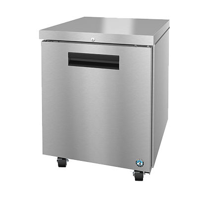 "superior-equipment-supply - Hoshizaki - Hoshizaki Stainless Steel 27"" Wide Reach-In Undercounter Freezer With Cylinder Door Lock"