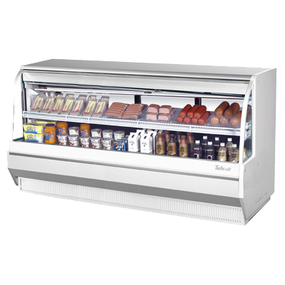 "Turbo Air 96.4"" Wide Stainless Steel Deli Case"