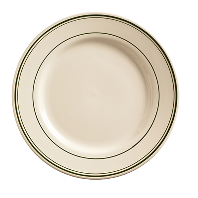 "superior-equipment-supply - World Tableware Inc - World Tableware Viceroy Plate Cream White Stoneware 6-5/8"" Diameter - 24/Case"