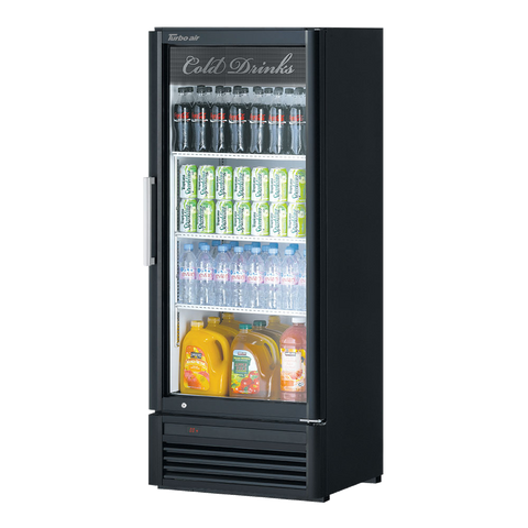 "superior-equipment-supply - Turbo Air - Turbo Air 25.75"" Wide One-Section Stainless Steel Refrigerated Merchandiser"