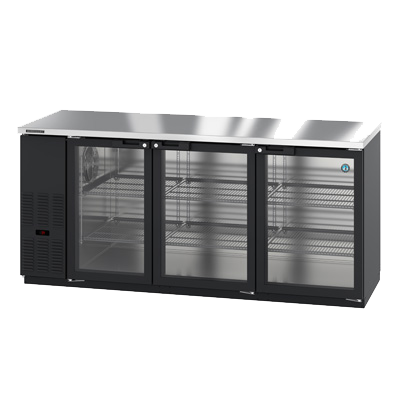 "superior-equipment-supply - Hoshizaki - Hoshizaki Reach-In ThreeSection Back Bar Cooler 80""W (4) 1/2 Kegs"