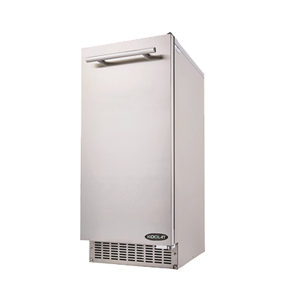 superior-equipment-supply - MVP Group - Kool-It Stainless Steel Undercounter Residential Bell-Shaped Ice Maker 69 lbs/24 Hr. Production Capacity With 26 lbs. Ice Storage Bin