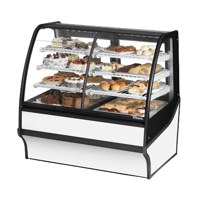 "superior-equipment-supply - True Food Service Equipment - True Stainless Steel Self-Contained 48""W Dual Zone Merchandiser"