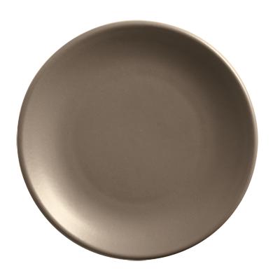 "superior-equipment-supply - World Tableware Inc - World Tableware Driftstone Coupe Plate Sand Porcelain 6"" dia. -24/Case"