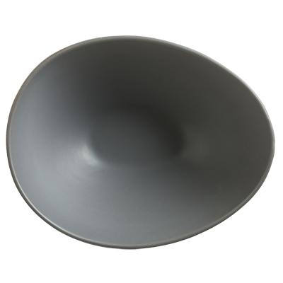 superior-equipment-supply - World Tableware Inc - World Tableware Driftstone Oval Bowl Driftwood Porcelain 38 oz. -12/Case