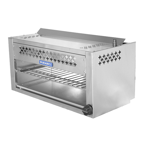 "superior-equipment-supply - Turbo Air - Turbo Air Stainless Steel 36"" Wide Radiant Cheesemelter"